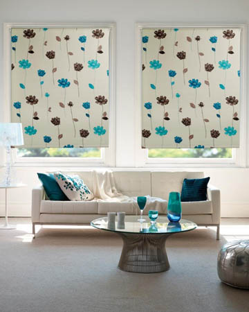 Floral Blackout Blinds