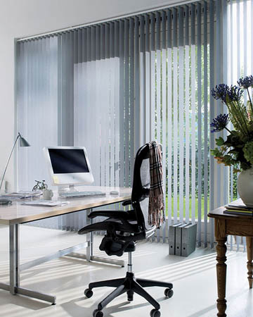 Metallic Vertical Blinds