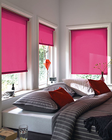 Pink Blackout Blinds