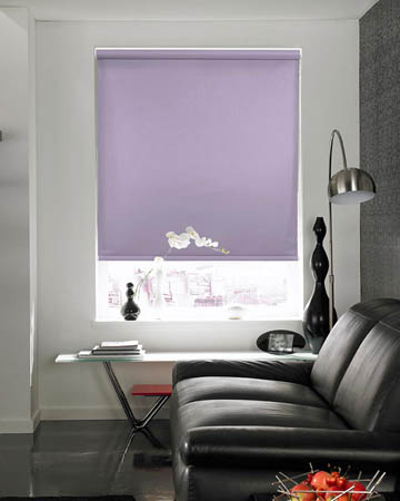 Lilac Roller Blinds