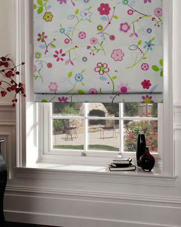 Pattern Roman Blinds
