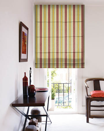 Stripes Roman Blinds