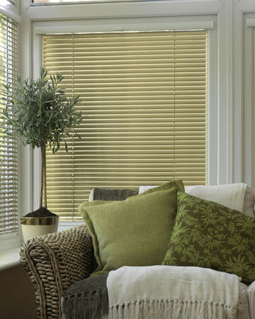 Aluminium Wood Effect Blinds