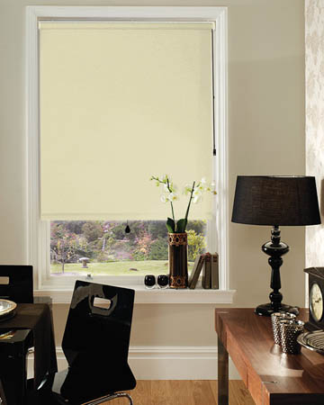 Cordless Bermuda Beige Blackout Blinds