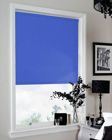 Bermuda Light Blue Blackout Blinds