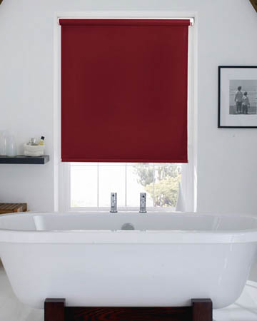Waterproof Burgundy Blackout Blinds
