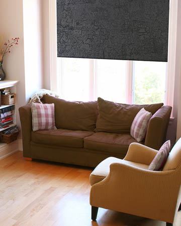 Waterproof Marble Black Blackout Blinds