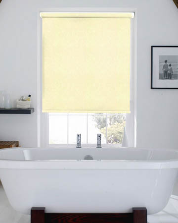 Waterproof Marble Cream Blackout Blinds