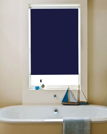 Waterproof Navy Blackout Blinds
