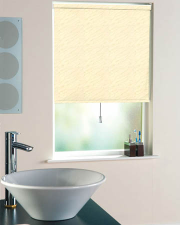 Waterproof Picasso Cream Blackout Blinds