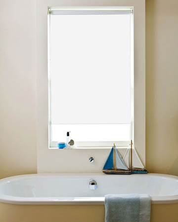 Waterproof White Blackout Blinds