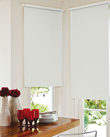 Bermuda White Blackout Blinds