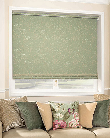 Louvolite Collina Lily Pad Blackout Blinds