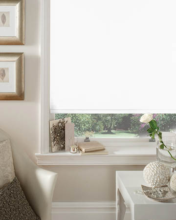 Bermuda Brilliant White Blackout Blinds