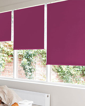 Bermuda Fuchsia Blackout Blinds