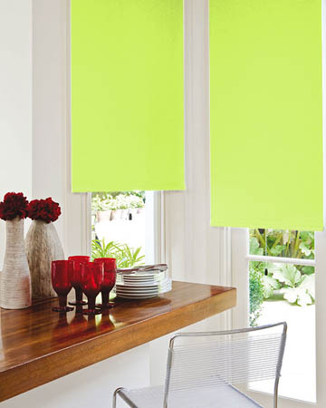 Lime Blackout Blinds