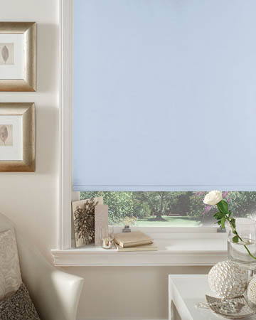 Cordless Spa Blue Blackout Blinds