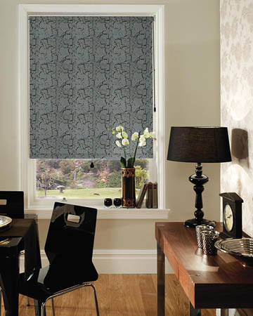 Decora Metz Black Blackout Blinds