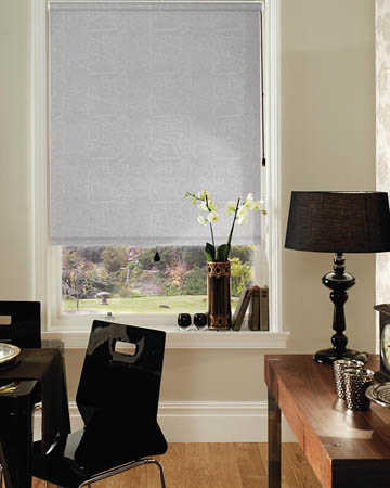 Decora Metz White Blackout Blinds