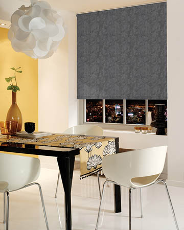 Decora Toro Pewter Blackout Blinds