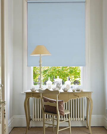 Decora Unilux Powder Blue Blackout Blinds