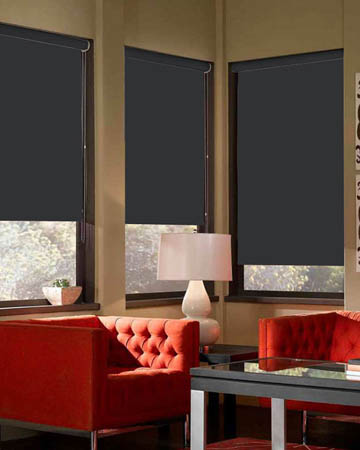 Eclipse Banlight Duo FR Black Blackout Blinds