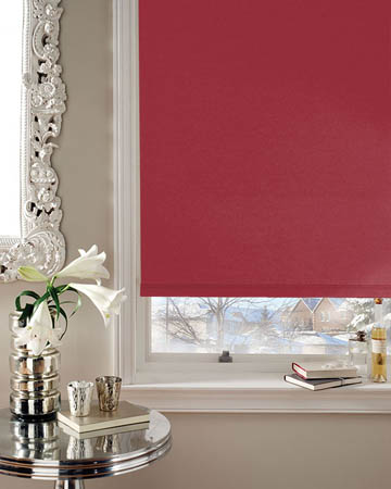 Eclipse Banlight Duo FR Cerise Blackout Blinds