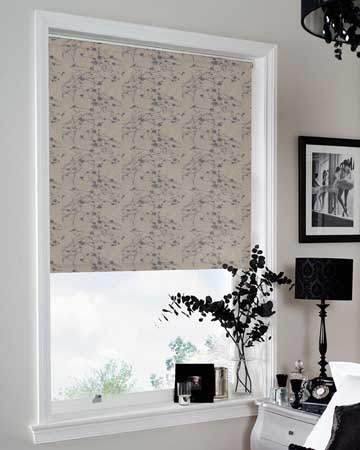 Louvolite Collina Moonlight Mink Blackout Blinds