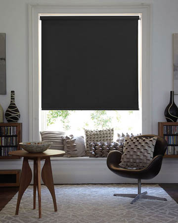 Louvolite Exlite Black Blackout Blinds