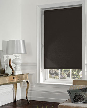 Moonlight Chocolate Blackout Blinds
