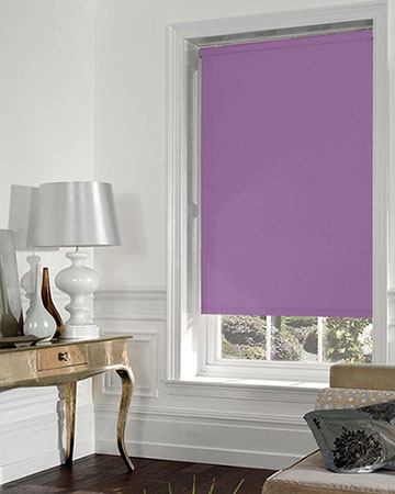 Moonlight Purple Blackout Blinds
