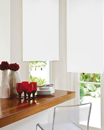 Splendor White Blackout Blinds