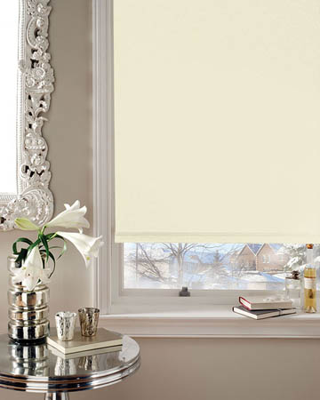 Splendor Cream Blackout Blinds