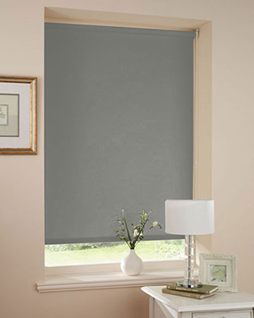 Splendor Slate Blackout Blinds