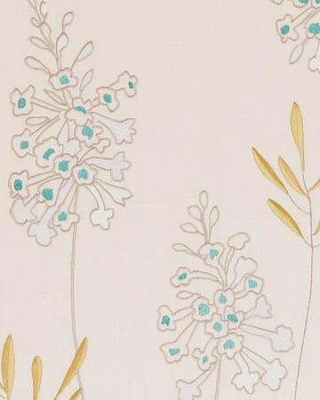 Clarke & Clarke Foxglove Aqua Curtains