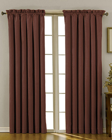 Brown Curtains, Window Curtains - Blinds UK