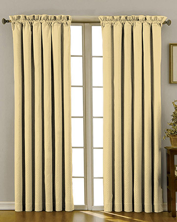 Clarke & Clarke Nantucket Corn Curtains