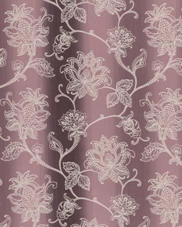 Clarke & Clarke Raphael Cassis Curtains