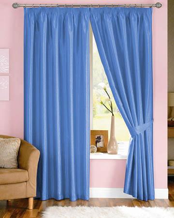 Dahlia Blue Curtains