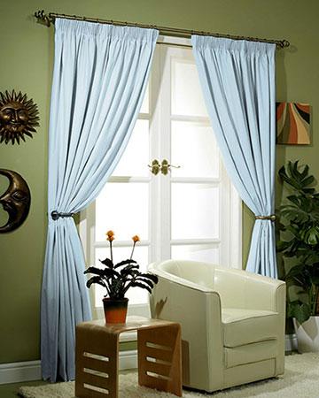 Dahlia Duckegg Curtains