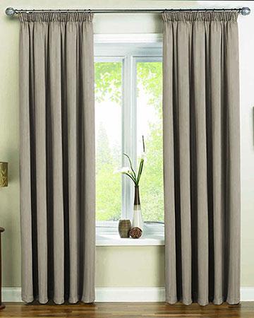 Dahlia Latte Curtains