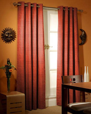 Edgar Terracotta Curtains