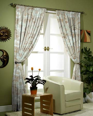 Limoges Putty Curtains