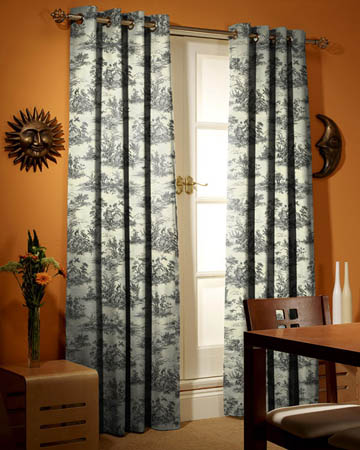 Marie Graphite Curtains