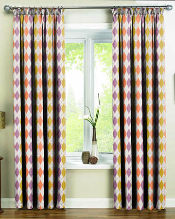 Contemporary Custom Made Curtains - Blinds UK