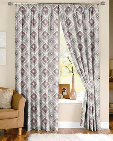 Prestigious Meknes Mulberry Curtains