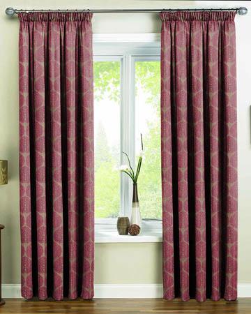 Prestigious Octavia Plum Curtains