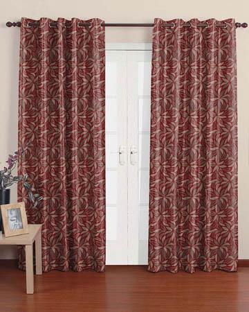Prestigious Oriana Bordeaux Curtains