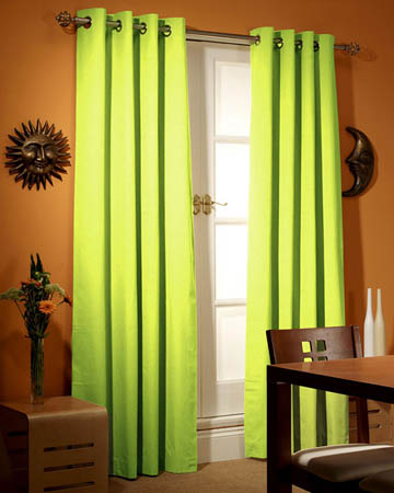 Green Curtains Blinds Uk