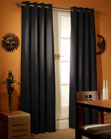 Prestigious Polo Black Curtains
